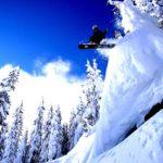 Wolna jazda na nartach
